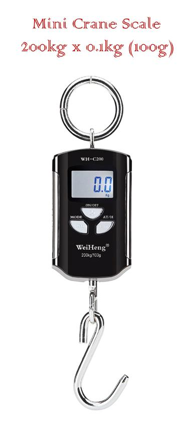 เครื่องชั่ง Digital Mini Crane Scale 200kg x 0.1kg (100g)